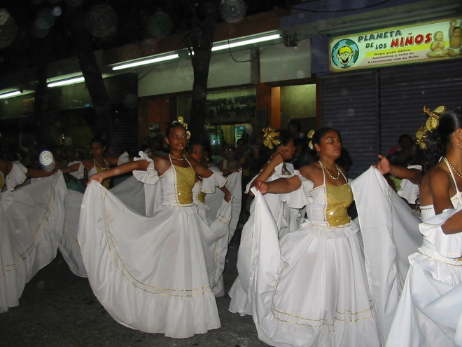 Carnaval in Santa Marta, Colombia. photo ©Lorraine Caputo